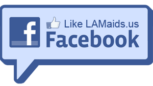 LA Maids on Facebook